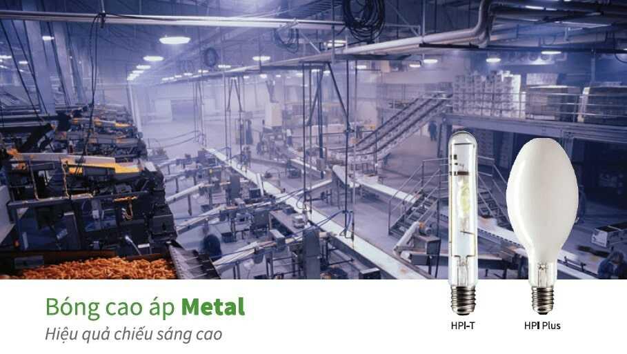 400 Bong den cao ap Philips Metal Halide MASTER HPI Plus 400W667 BU E40 1SL6