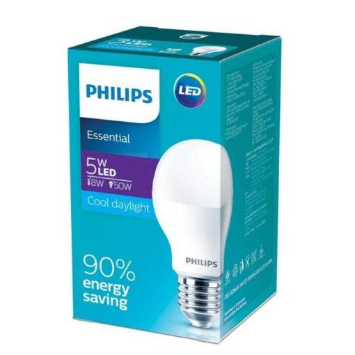 Bong den Led bulb E27 5W Philips