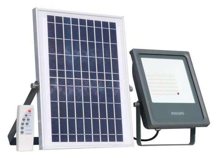 Philips lighting BVP080 LED10757 060 SmartBright Solar Flood Light Philips