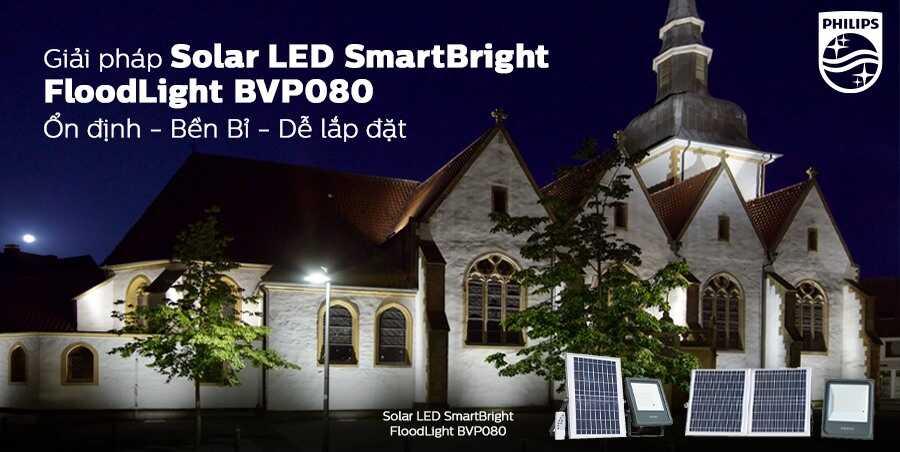 SmartBright Solar Flood Light BVP080 LED30757 150