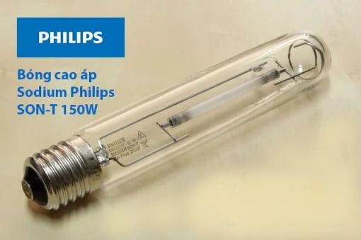 bong den cao ap sodium Philips son t 150w
