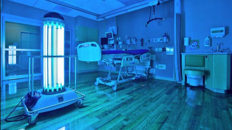 bóng đèn diệt khuẩn uvc philips trong phòng sạch