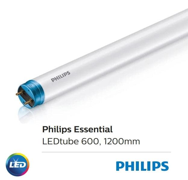 bong den tuýp essntial led tube 1m2 philips 145w