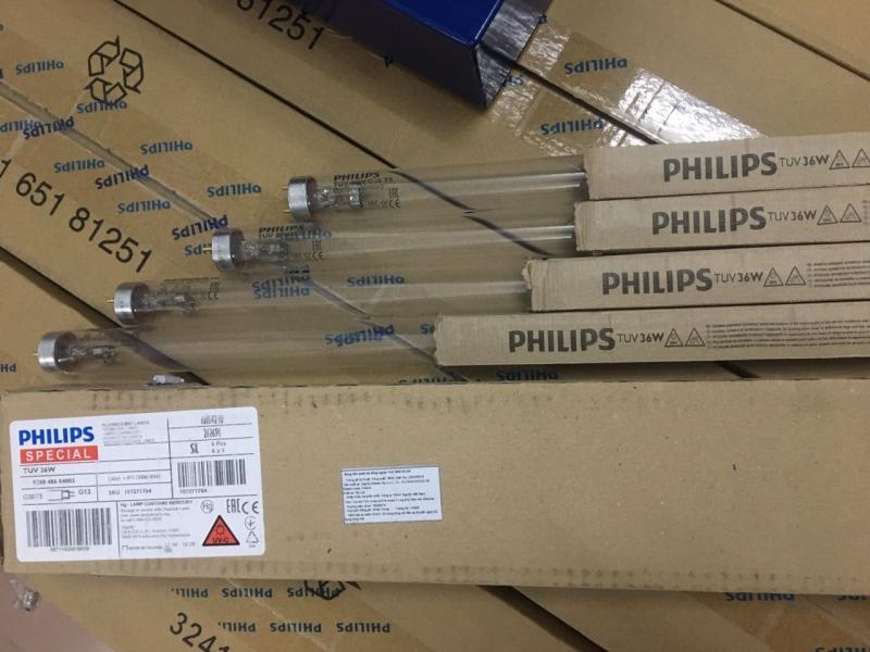 bóng đèn tia cực tím uv 1m2 TUV 36w philips