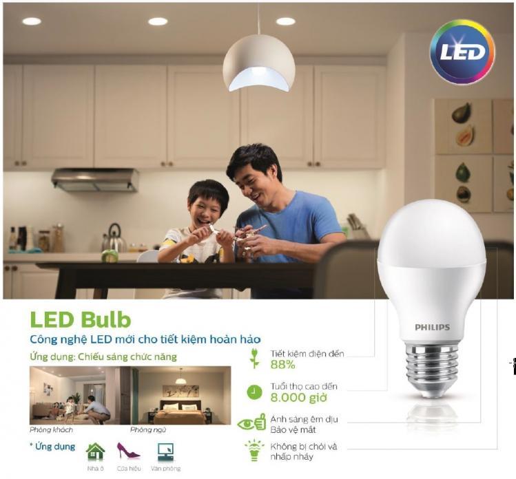 đèn led bulb Myvision Philips