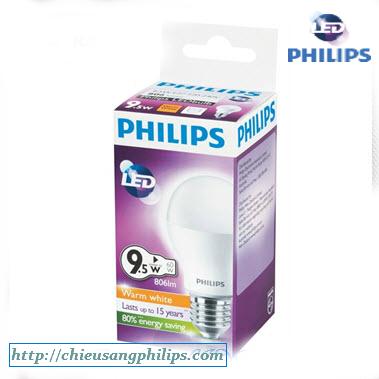 bong den led bulb philips 9 5w