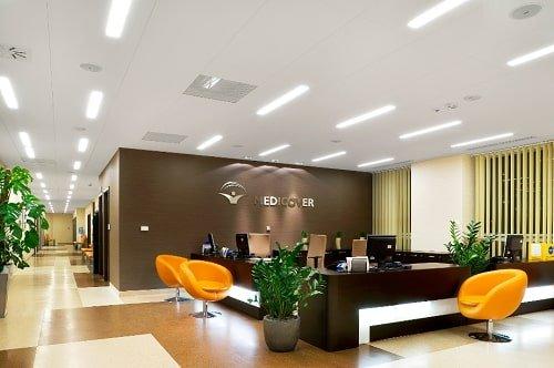 Bóng đèn Led tuýp Philips DE Led tube tại văn phòng