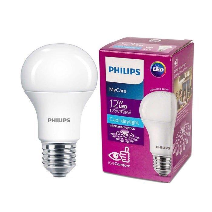 bong led bulb mycare philips 12w e27 2