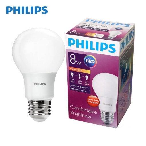 bong led bulb philips 8w e27