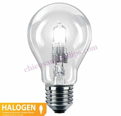 bulb halogen ecoclassic