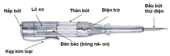 bút thử bóng đèn và bút thử điện