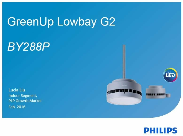 đèn led nhà xưởng lowbay BY288P Philips