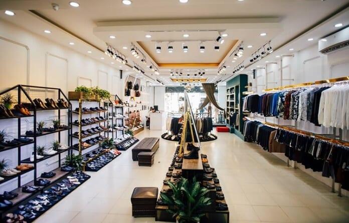 cách tính độ rọi cho shop thời trang