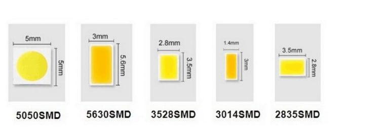 chip led smd 750 259