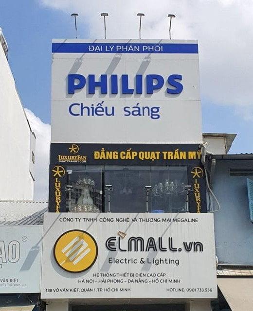 đại lý bóng đèn led philips tại tphcm