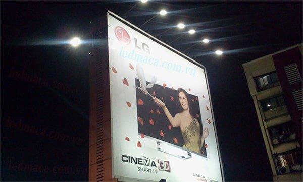 đèn cao áp biển quảng cáo