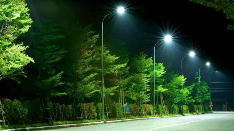 đèn đường led philips