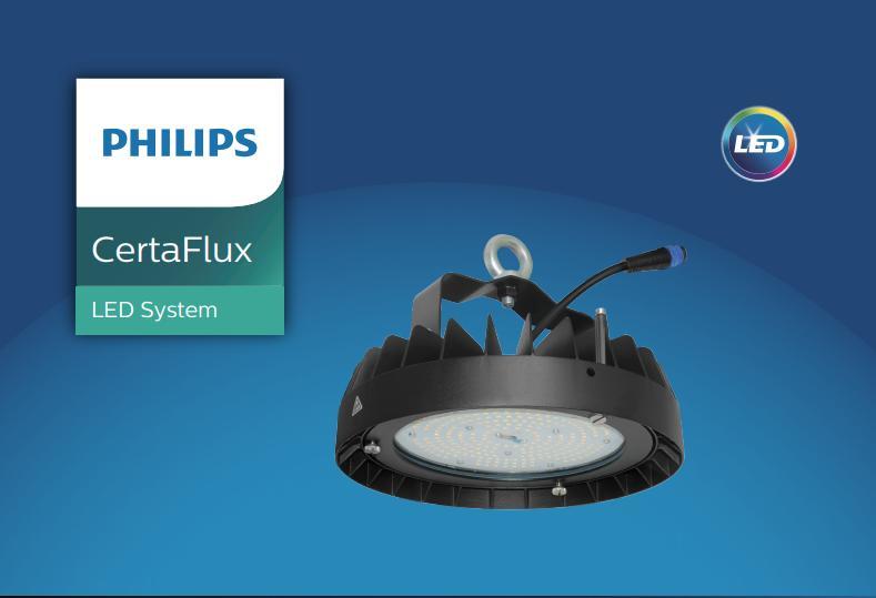 Đèn kho lạnh certaFlux highbay module philips
