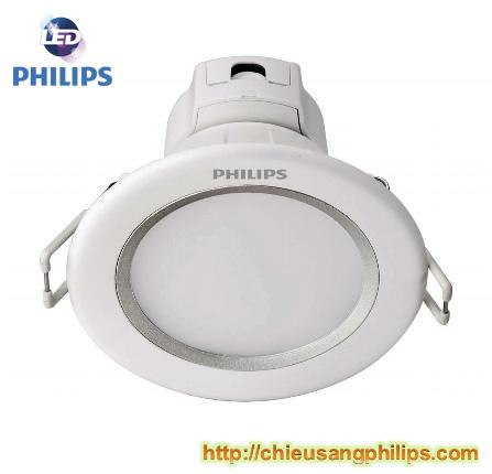 Đèn led âm trần 5W 80081 Philips Essential 6500K