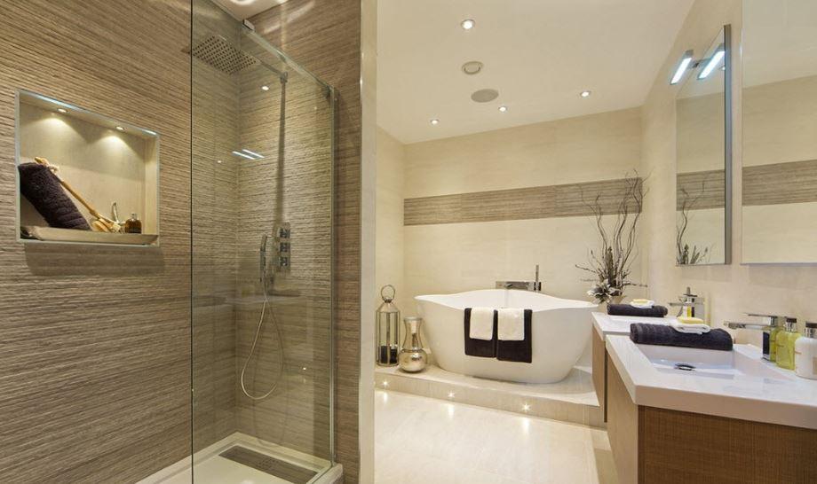 Ý tưởng chiếu sáng phòng tắm với bóng đèn LED Philips