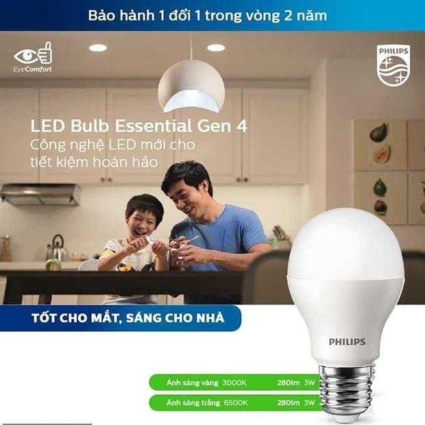 den led bulb philips 2 1