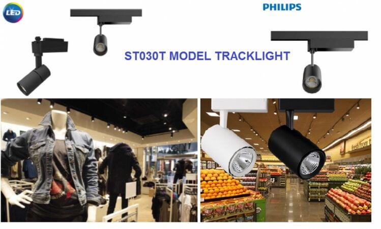 Đèn LED chiếu điểm spotlight trưng bày sản phẩm