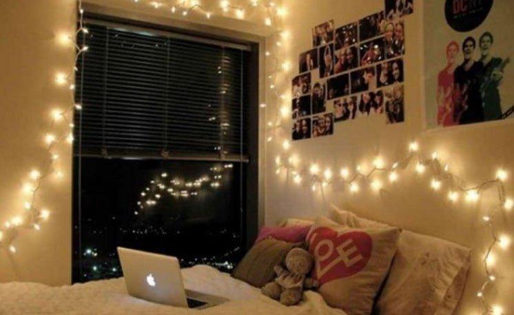 đèn led dây chiếu sáng phòng ngủ
