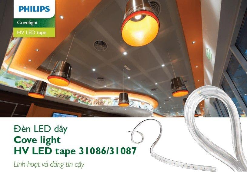 đèn led dây philips siêu sáng
