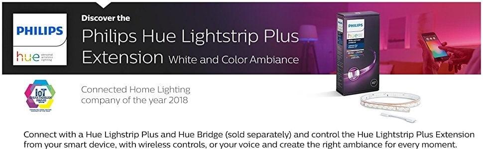 den led day philips hue lightstrip