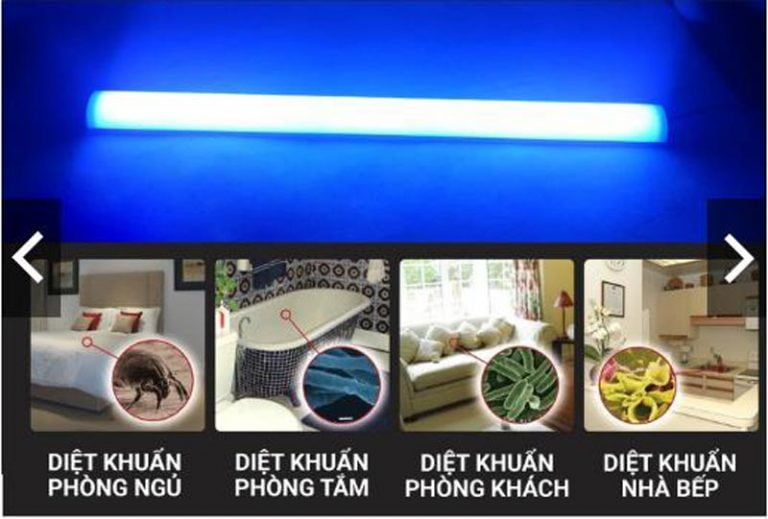 sử dụng đèn tuv philips đúng cách