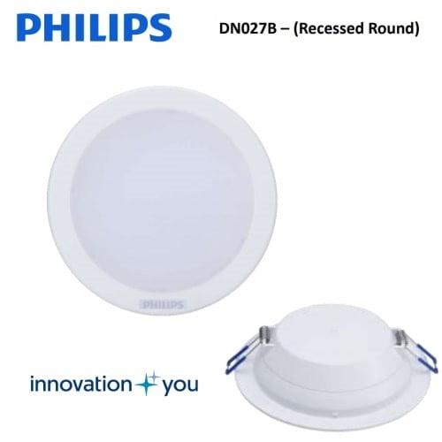 den led downlight am tran dn027 7w philips