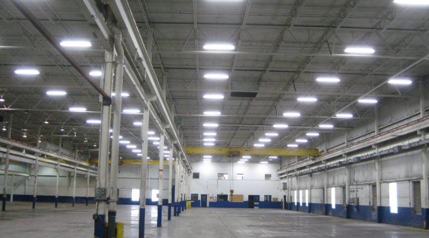 Đèn Led là giải pháp hàng đầu khi thiết kế chiếu sáng nhà xưởng