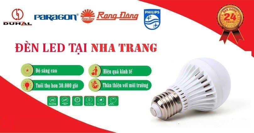Đèn led Nha Trang, đại lý phân phối đèn led tại Nha Trang