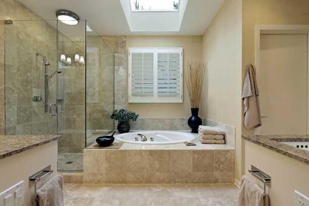 đèn led ốp trần phòng tắm