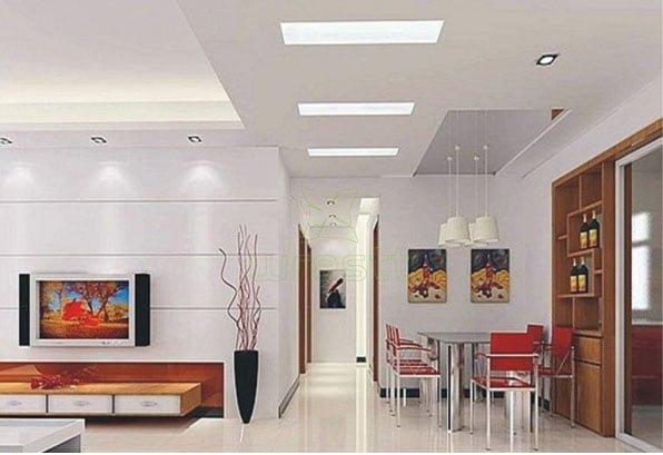 đèn led panel cho phòng khách1
