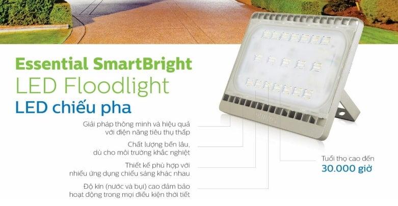 Đèn pha LED ứng dụng chiếu sáng sấn bóng đá giúp tiết kiệm điện