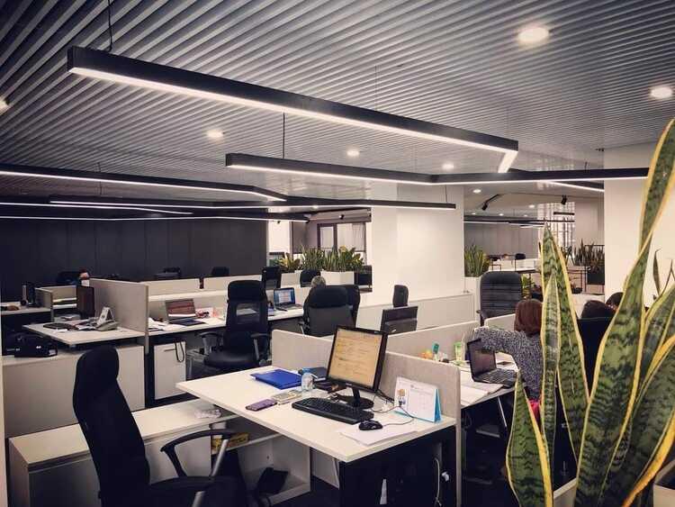 đèn led thả văn phòng
