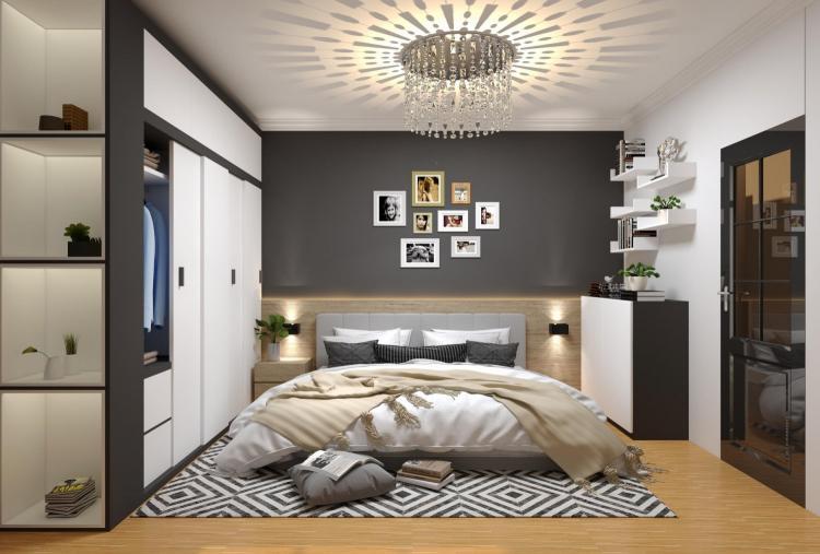 Đèn ngủ treo tường Led