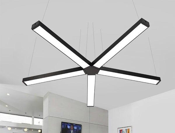 Đèn thả trần 1m2 cho văn phòng cực chất