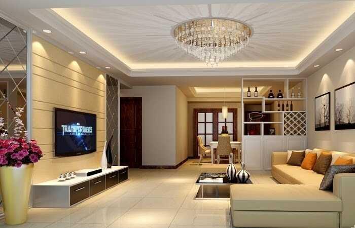 đèn trang trí trần nhà