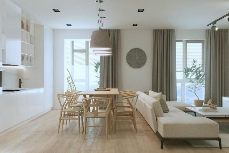 đèn trang trí phòng khách cho chung cư