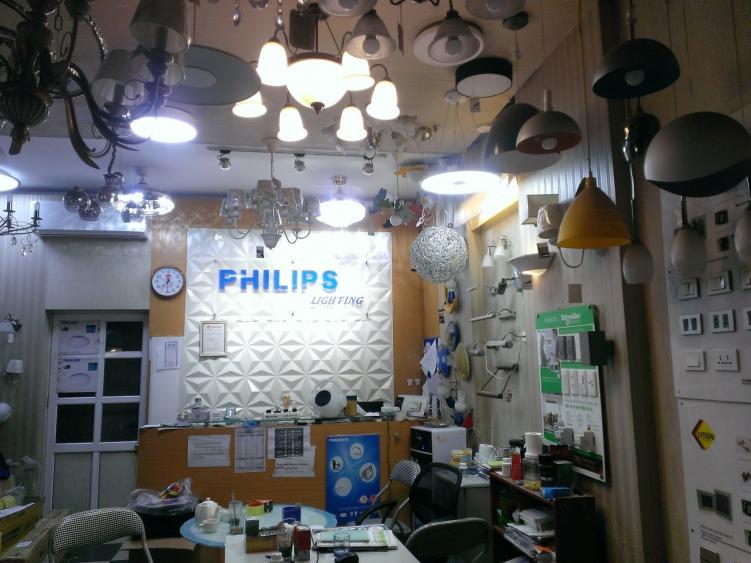 nhà phân phối đèn led philips tại hà nội