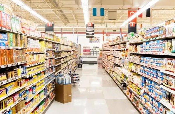 hệ thống chiếu sáng siêu thị