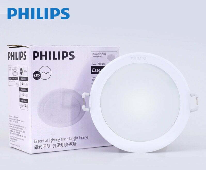 đèn led âm trần philips