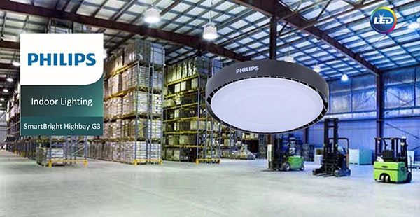 Đènled nhà xưởng BY238P LED15062W, 97W, 145W, 190WPhilips