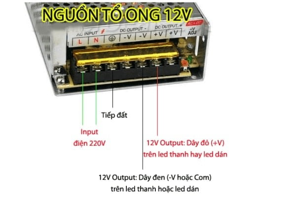 lap dat nguon to ong 12v