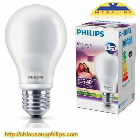 led bulb philips 6w