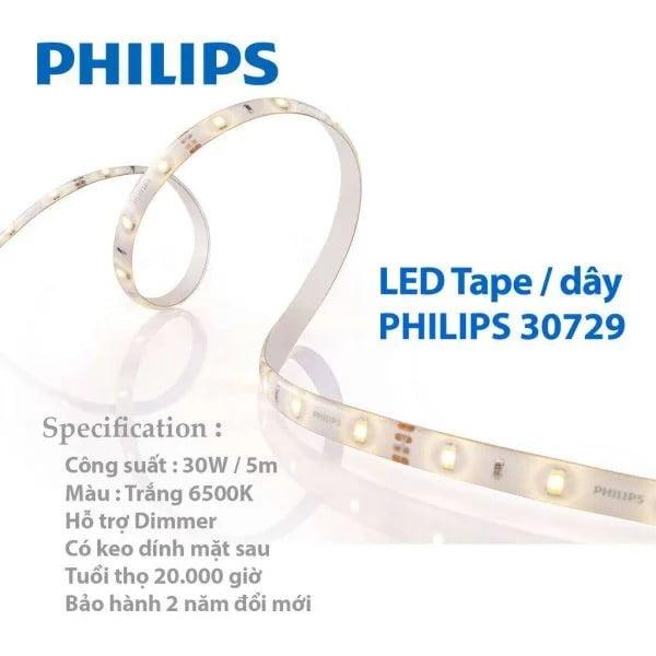 LED Tape LED day Philips 30729 6500K 30W