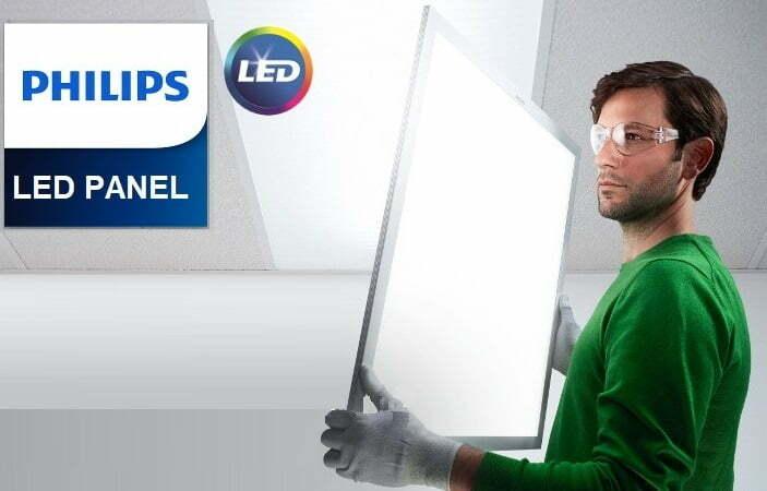 mang den am tran led smartbright slim panel philips rc091v led26s 865 psu w60l60 pcv