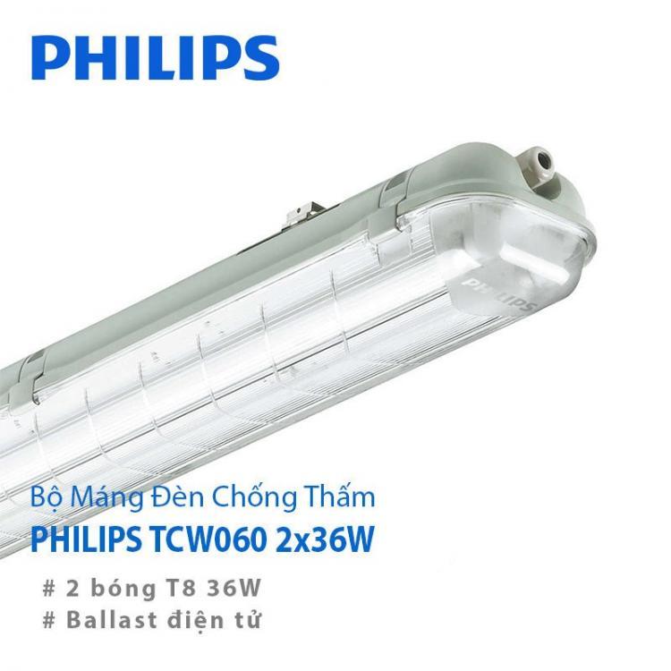 Bóng đèn chống ẩm Philips TCW060 36W Philips